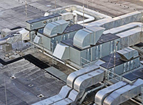 Filtry powietrza wentylacja